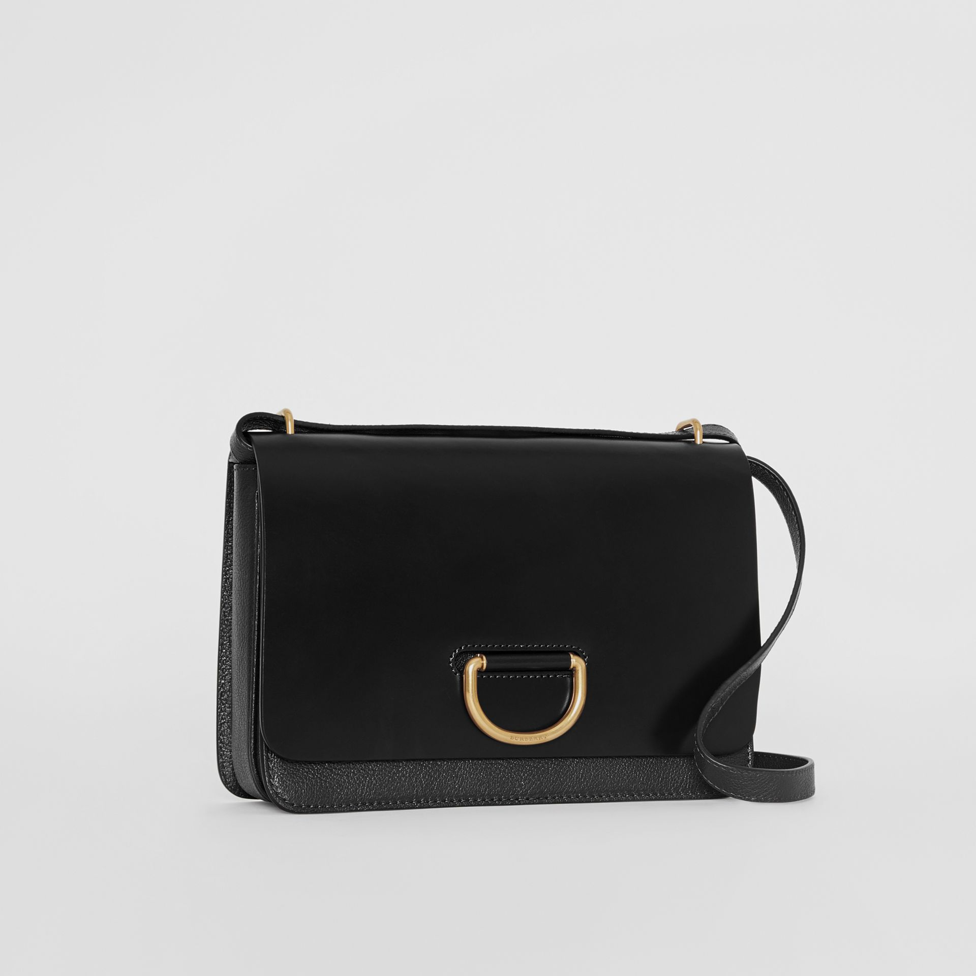 Sac The D-ring moyen en cuir (Noir) - Femme | Burberry - photo de la galerie 7