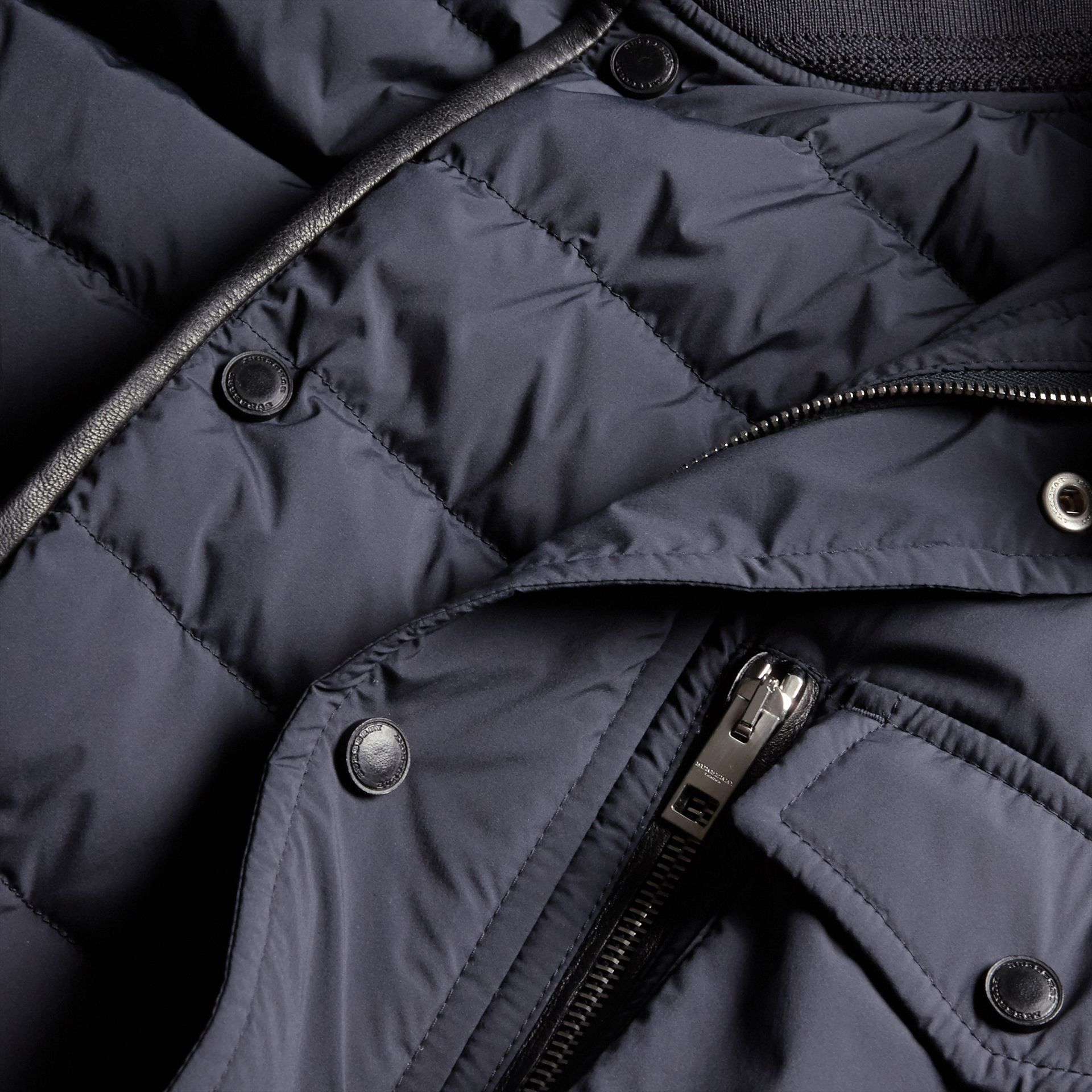 Navy Lightweight Field Jacket with Detachable Gilet - gallery image 2