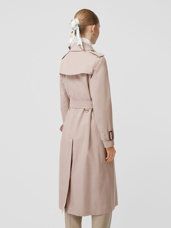 Cotton Gabardine Trench Coat in Pale Blush - Women | Burberry - cell image 2