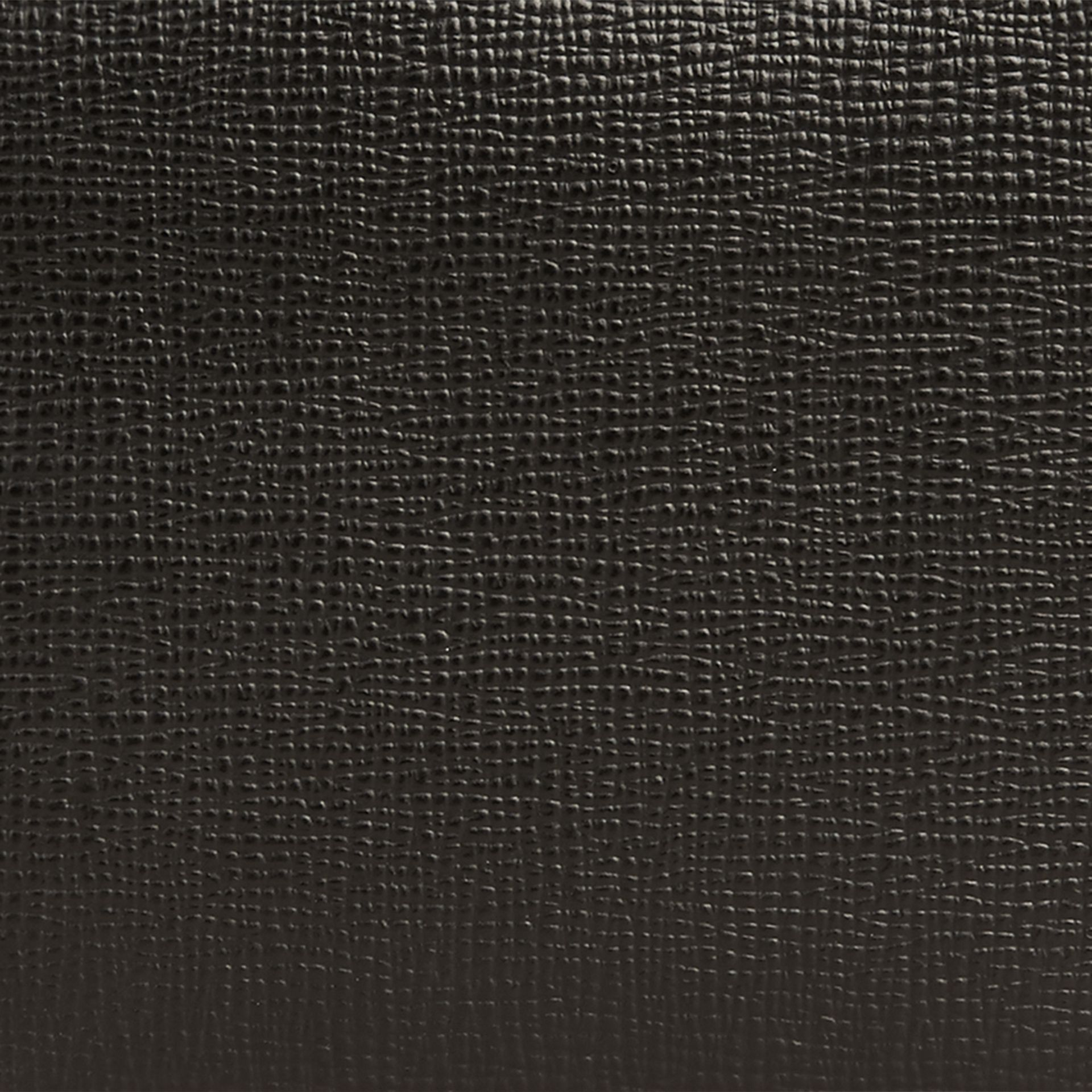 Black London Leather Folding Wallet Black - gallery image 2