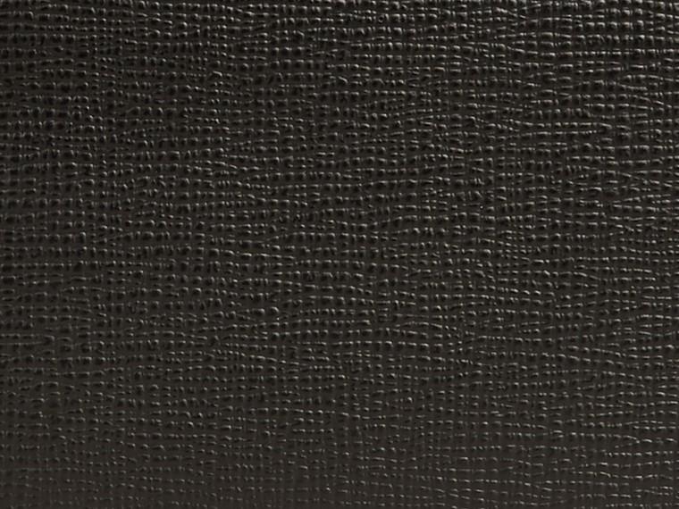 Black London Leather Folding Wallet Black - cell image 1