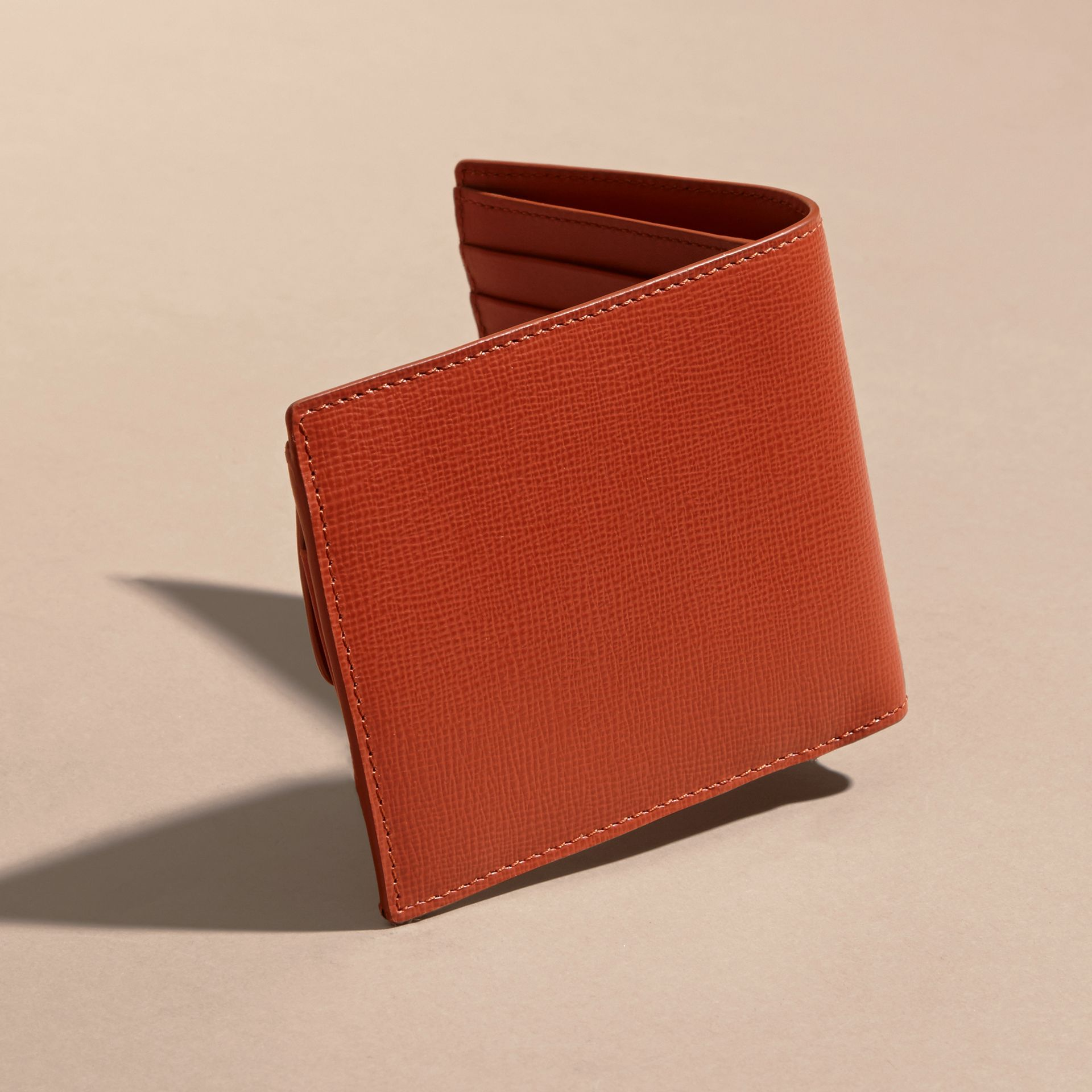 London Leather Folding Coin Wallet - gallery image 3