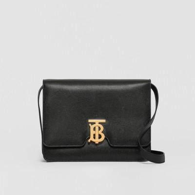 Burberry Borsa Cube piccola con motivo Vintage check nero