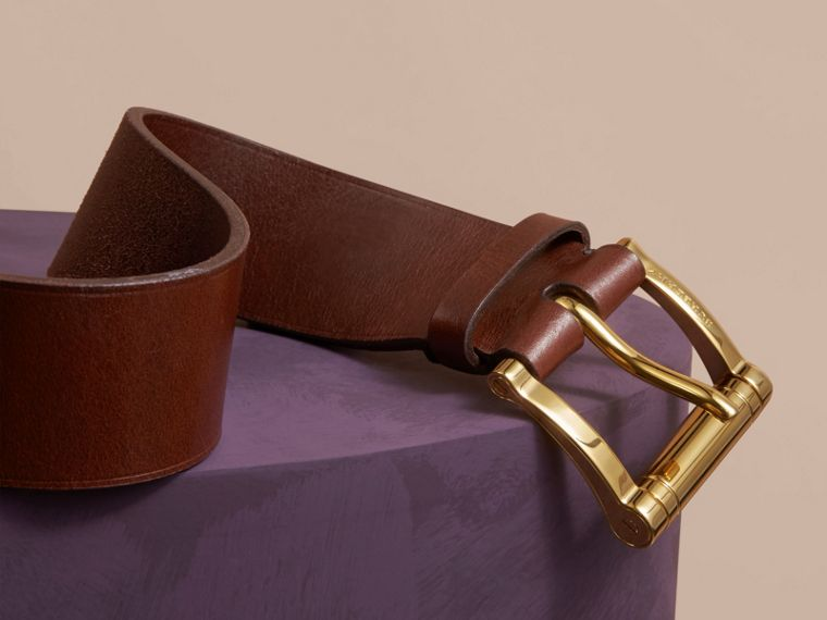 Tan Bridle Leather Belt Tan - cell image 1