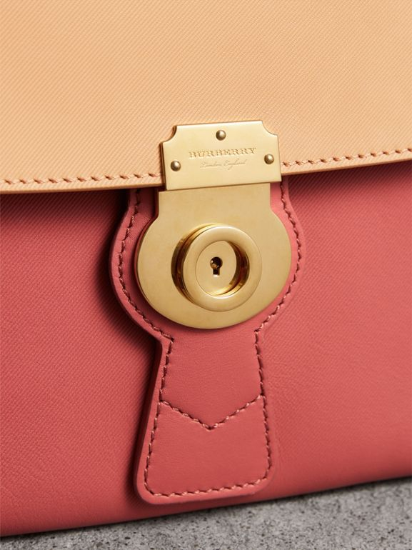 The Medium DK88 Top Handle Bag in Blossom Pink/pale Clementine - Women | Burberry - cell image 1