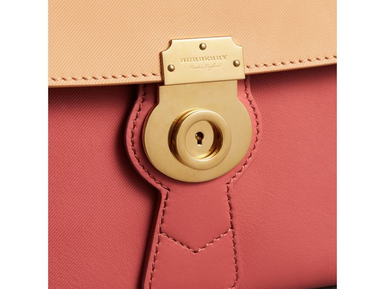 The Medium DK88 Top Handle Bag in Blossom Pink/pale Clementine - Women | Burberry Singapore - cell image 1