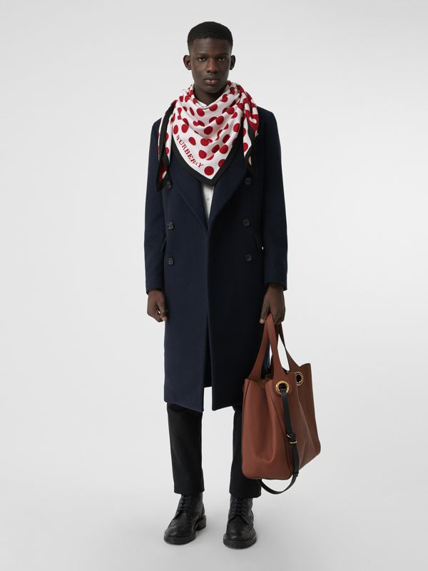 The Burberry Bandana in Spot Wool Blend in Multicolour | Burberry - cell image 3