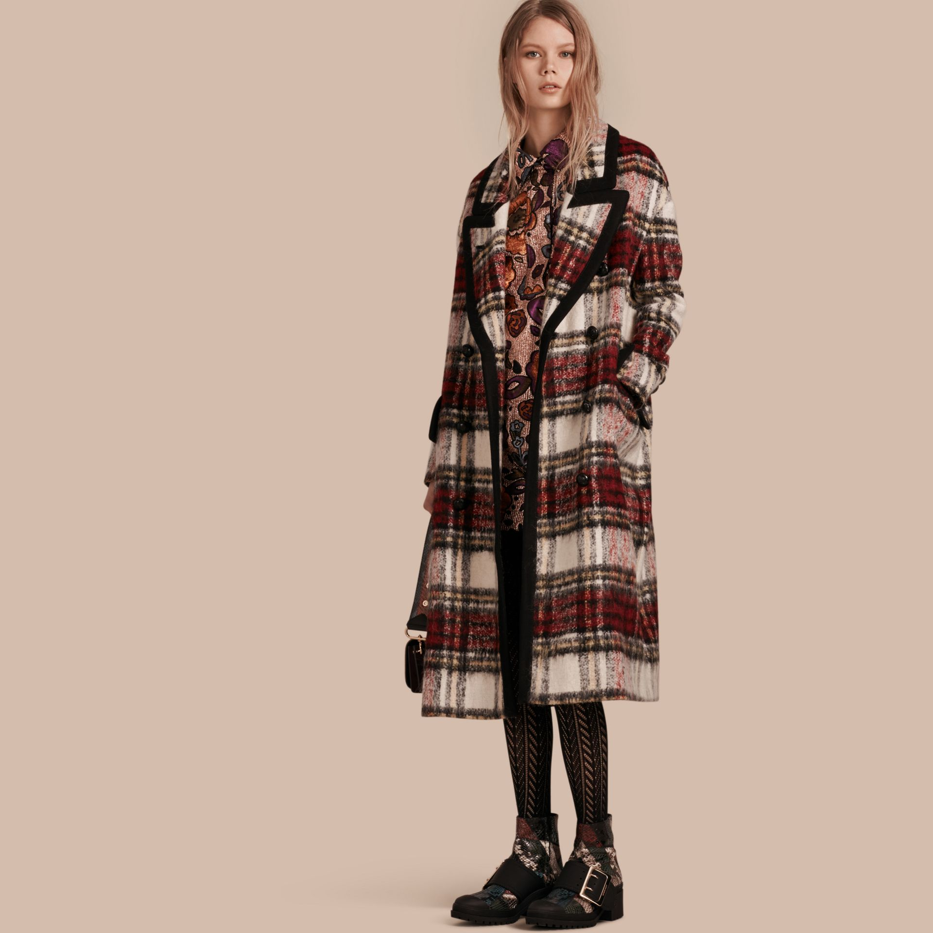 Elderberry The Check Coat - gallery image 1