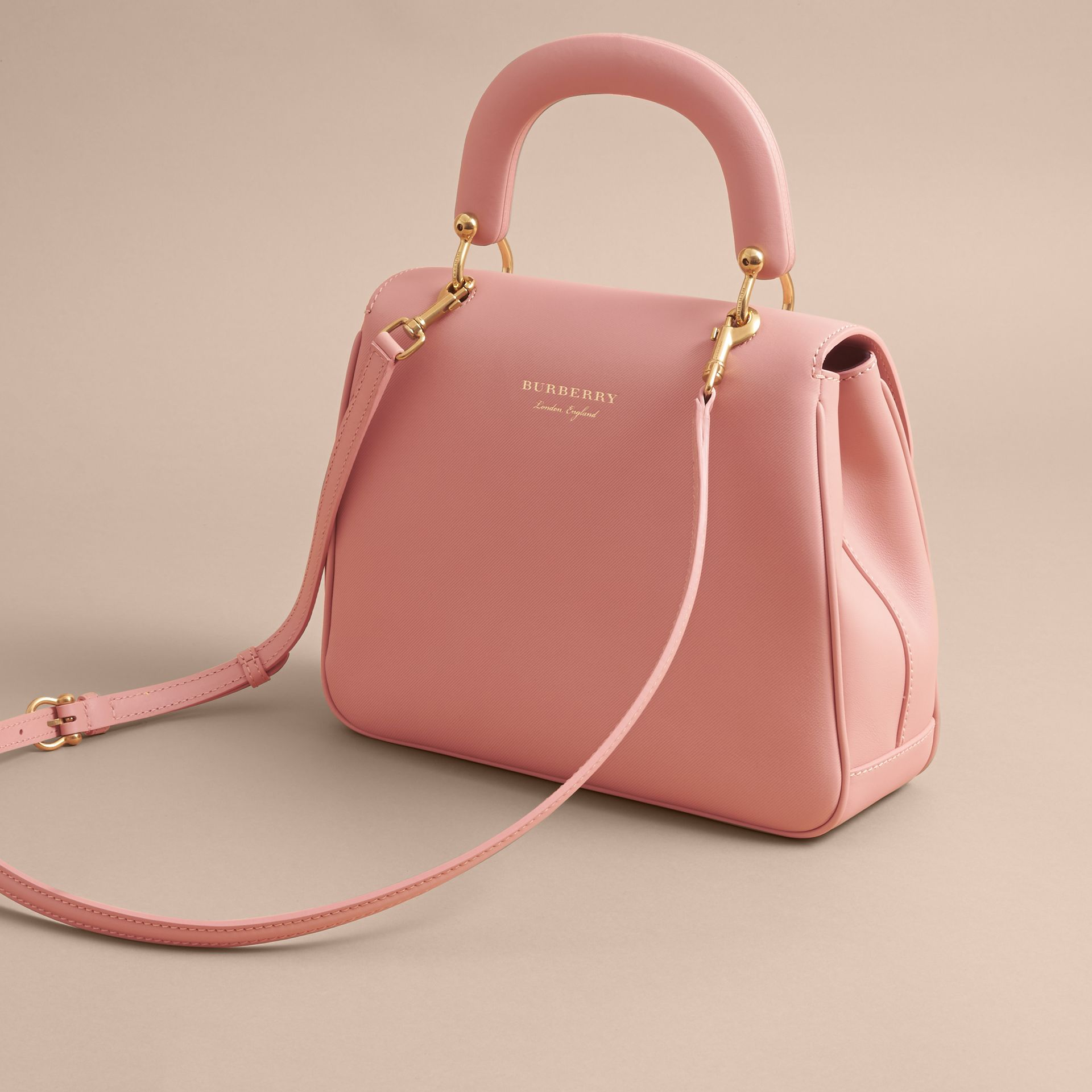 The Medium DK88 Top Handle Bag in Ash Rose - Women | Burberry United Kingdom - gallery image 4