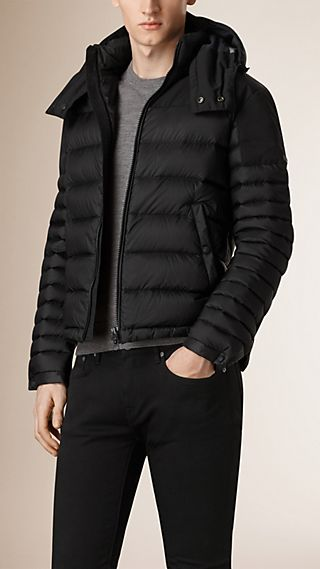Lightweight Down Filled Technical Puffer Jacket