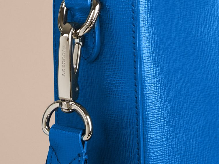 Mineral blue London Leather Tote Bag Mineral Blue - cell image 4