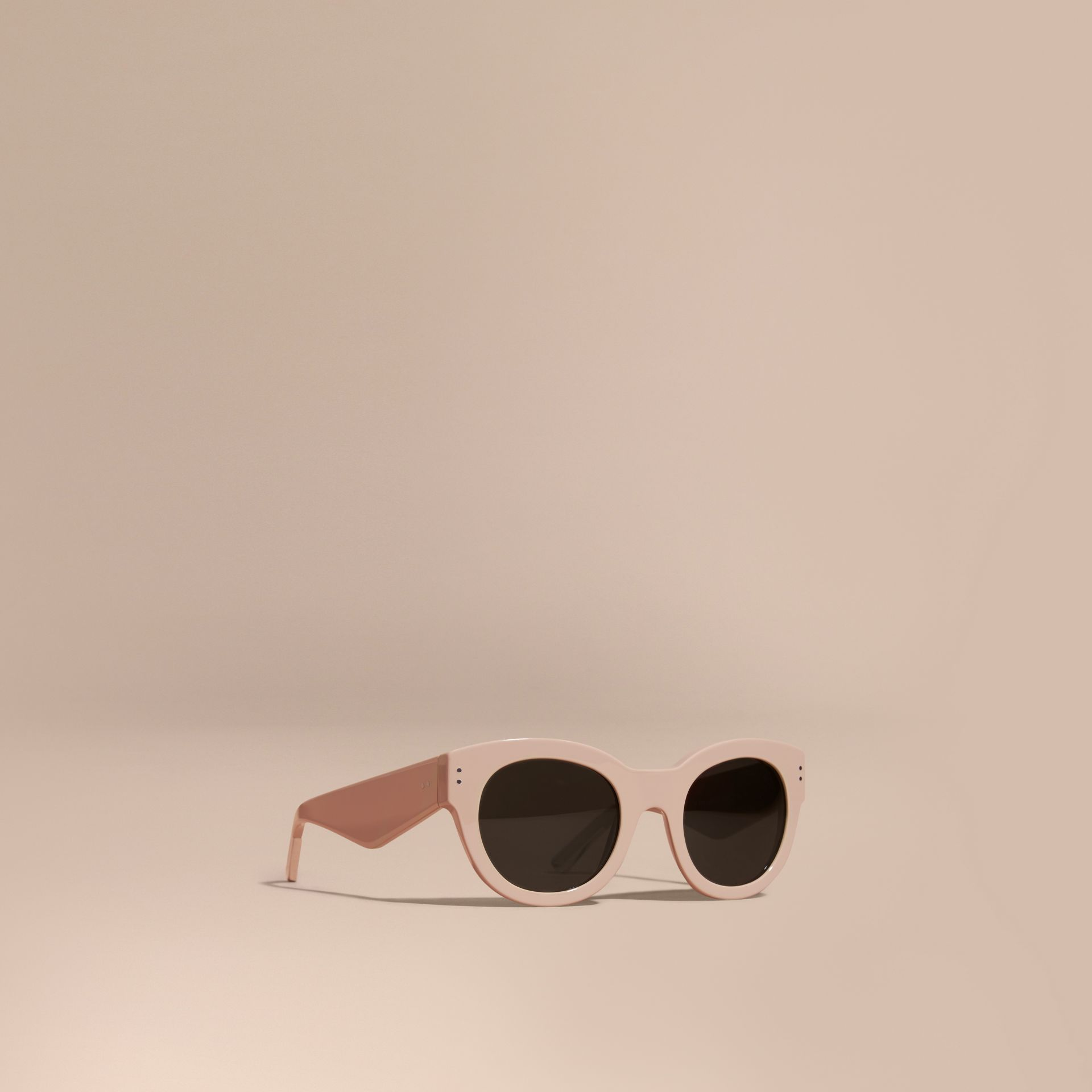 Nude Cat-eye Sunglasses Nude - gallery image 1