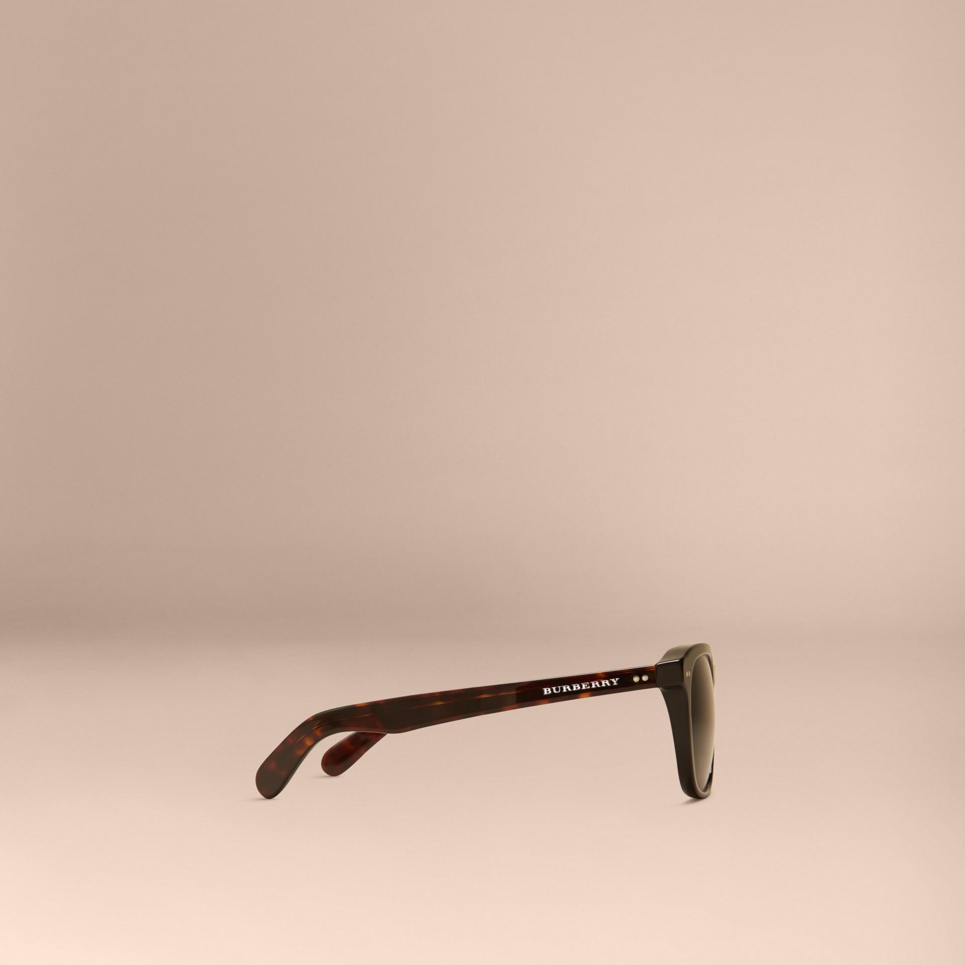 Black Square Frame Sunglasses Black - gallery image 5