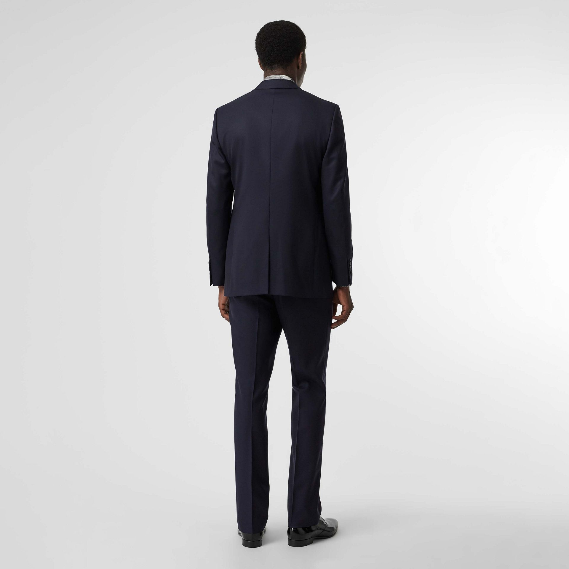 Classic Fit Wool Twill Suit in Navy - Men | Burberry United States - gallery image 2