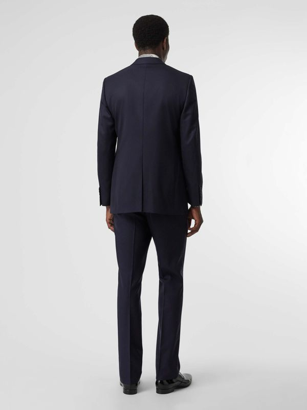 Classic Fit Wool Twill Suit in Navy - Men | Burberry United States - cell image 2
