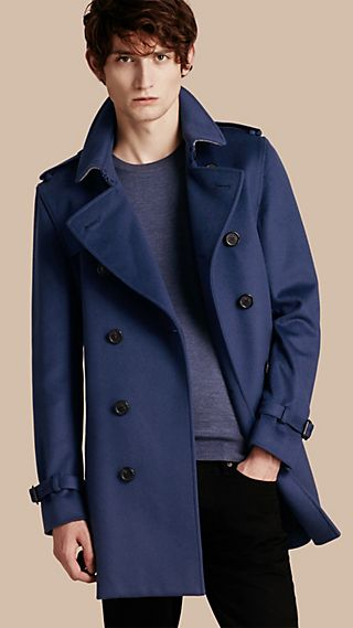 Wool Cashmere Trench Coat