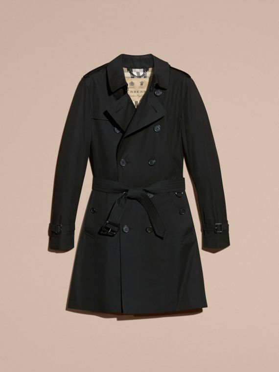 Noir The Sandringham – Trench-coat Heritage long Noir - cell image 3