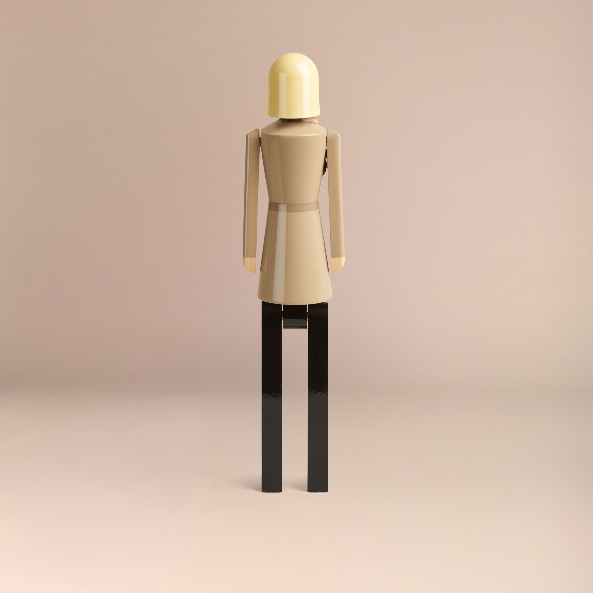 Multicolour Miss Trench Limited Edition Wooden Puppet - gallery image 5