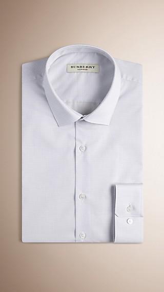 Modern Fit Check Cotton Shirt