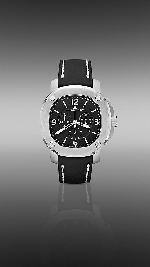 Black The Britain BBY1100 47mm Chronograph - Image 1