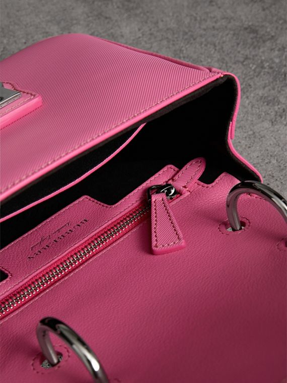 The Small DK88 Top Handle Bag in Rose Pink - Women | Burberry United Kingdom - cell image 3