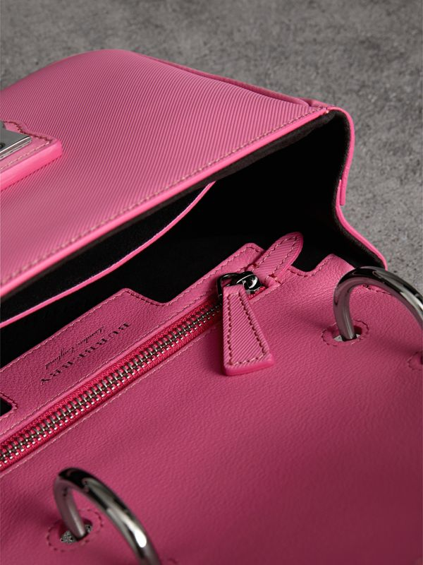 The Small DK88 Top Handle Bag in Rose Pink - Women | Burberry - cell image 3