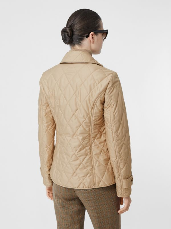 Diamond Quilted Thermoregulated Jacket in New Chino - Women | Burberry Hong Kong S.A.R - cell image 2