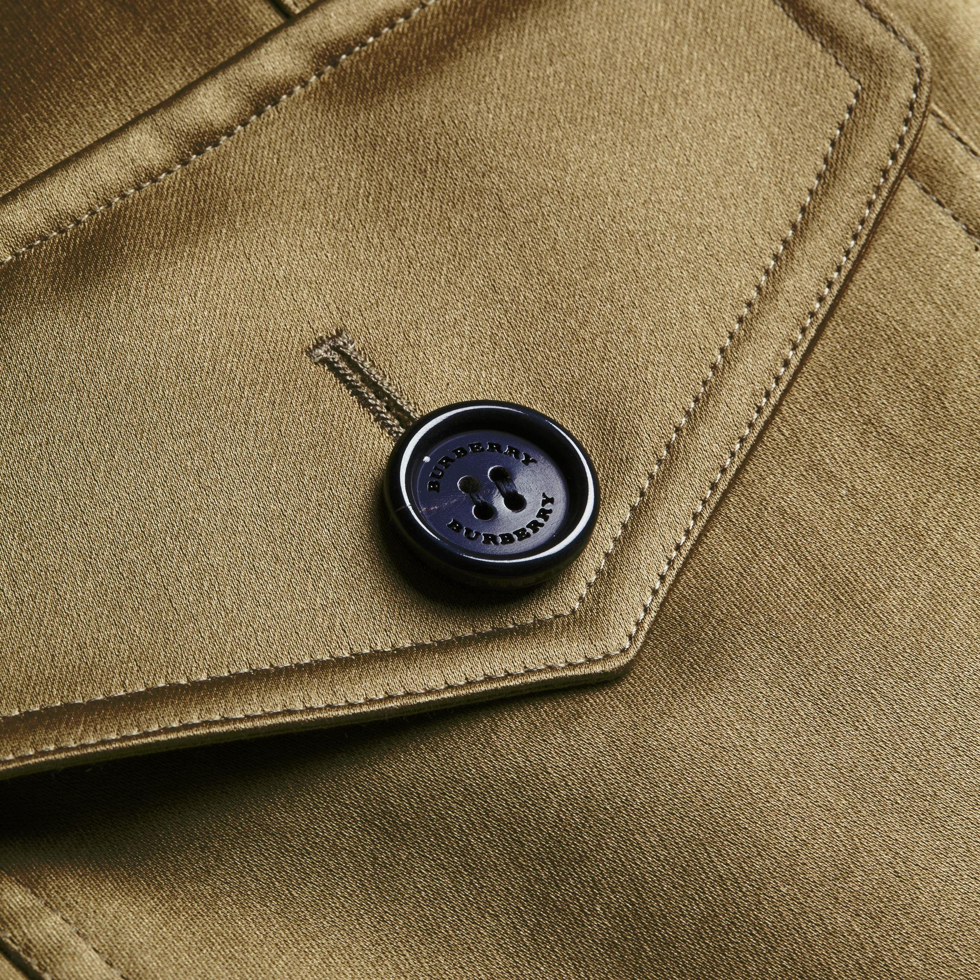 Cotton Field Jacket with Detachable Warmer - gallery image 2