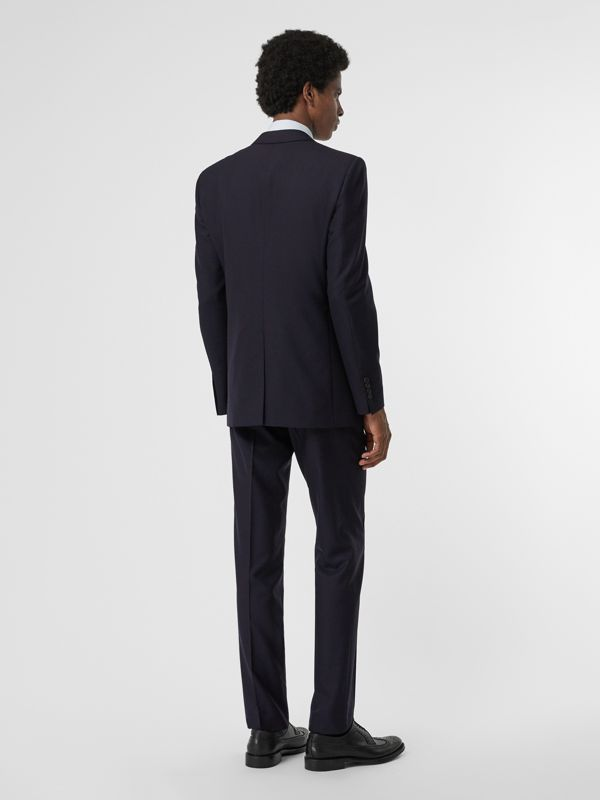 Modern Fit Wool Suit in Navy - Men | Burberry United Kingdom - cell image 2