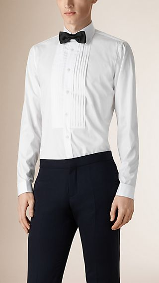 Modern Fit Cotton Dress Shirt