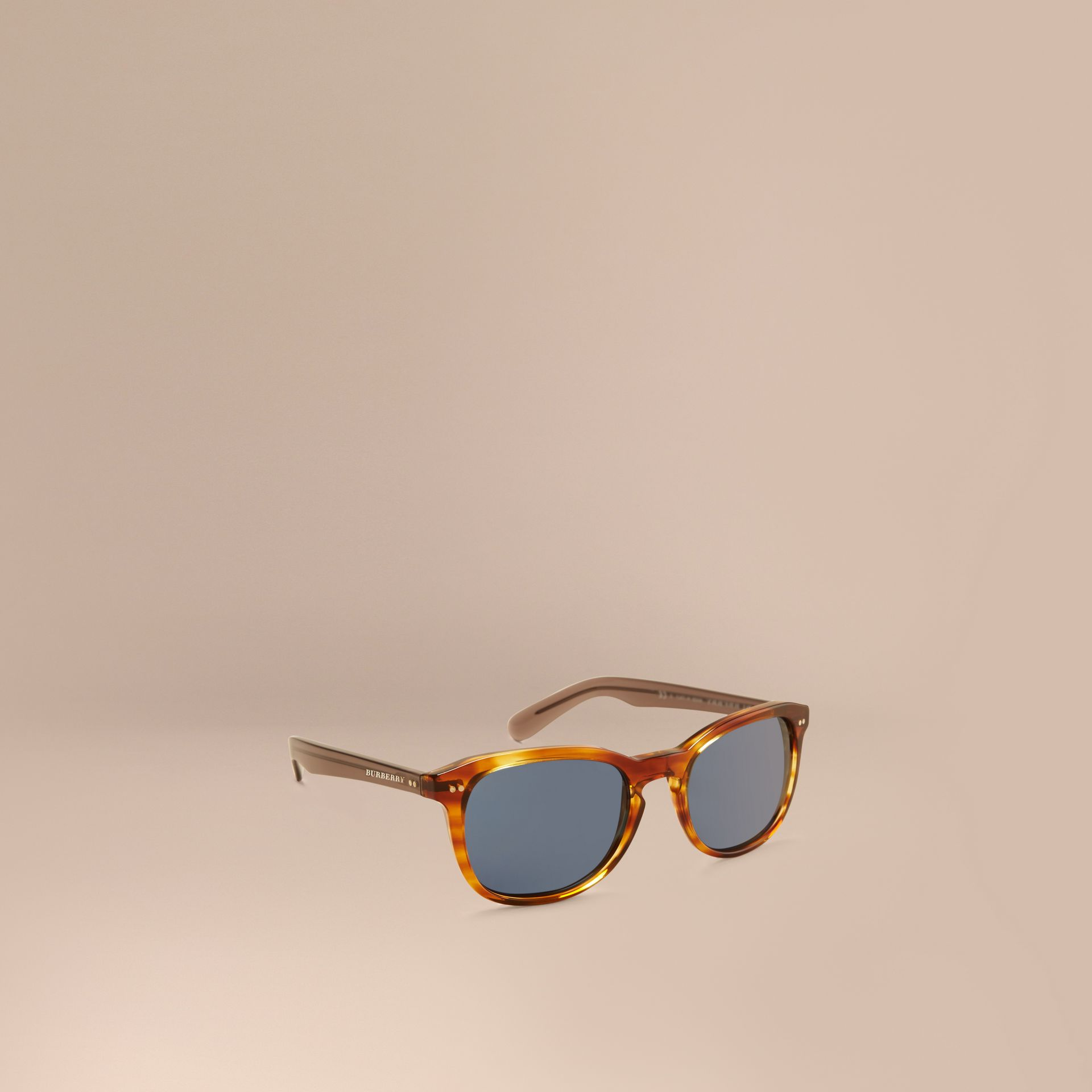 Tortoise amber Square Frame Sunglasses Tortoise Amber - gallery image 1