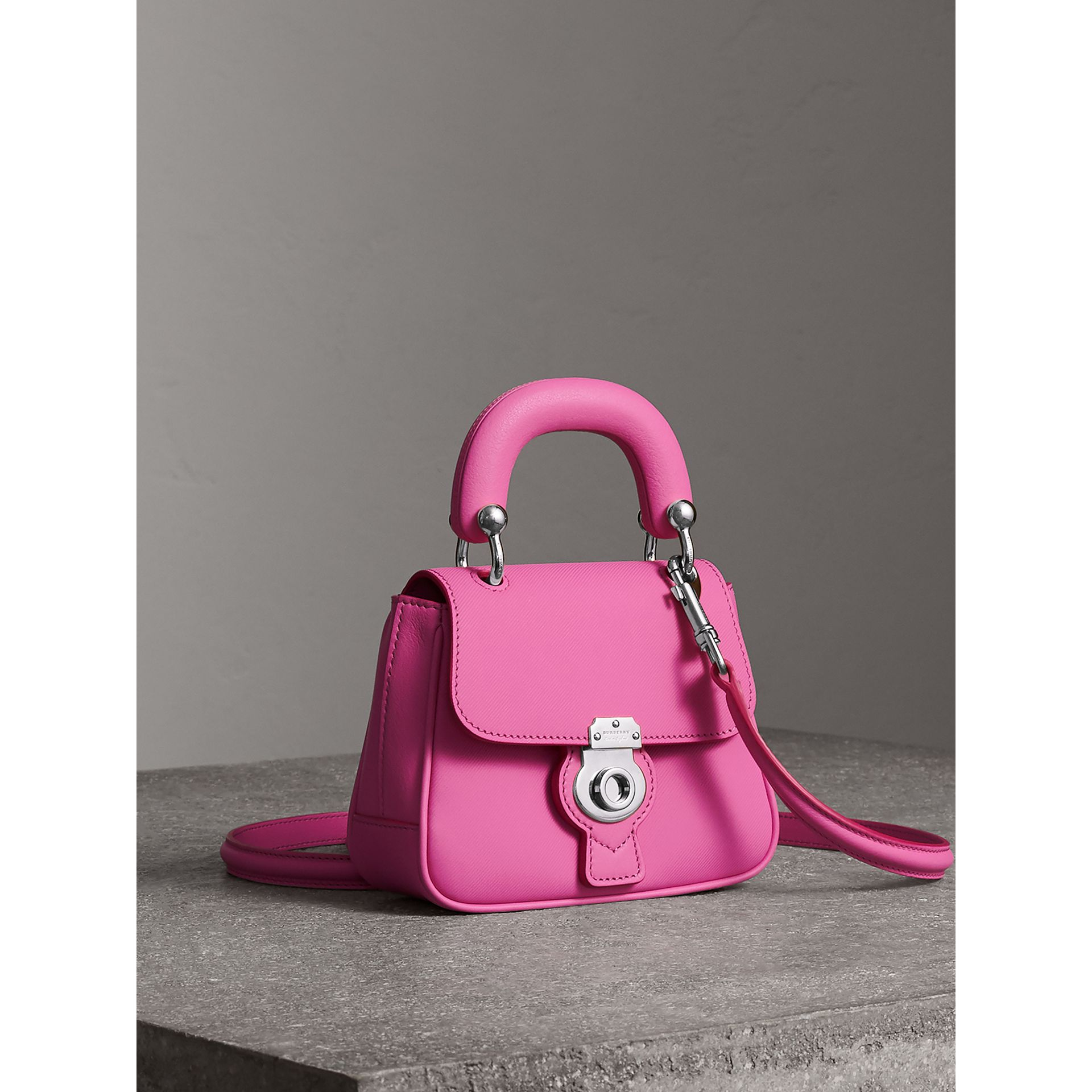 The Mini DK88 Top Handle Bag in Rose Pink - Women | Burberry United Kingdom - gallery image 5