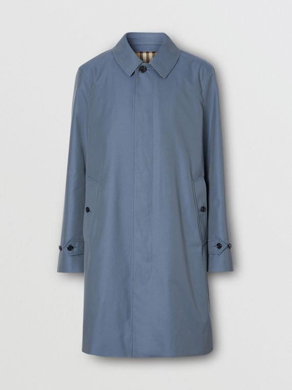 The Pimlico Heritage Car Coat in Empire Blue
