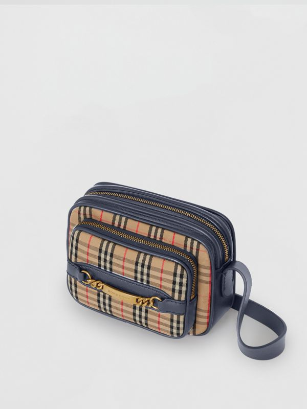 The 1983 Check Link Camera Bag in Ink Blue | Burberry Hong Kong - cell image 2