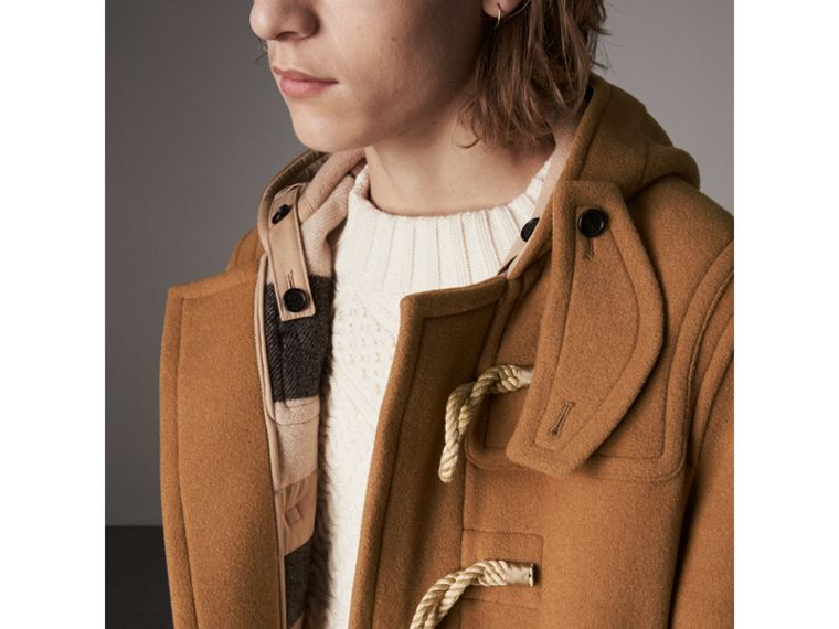 Duffle-coat The Greenwich (Camel Moyen) - Homme | Burberry - cell image 1
