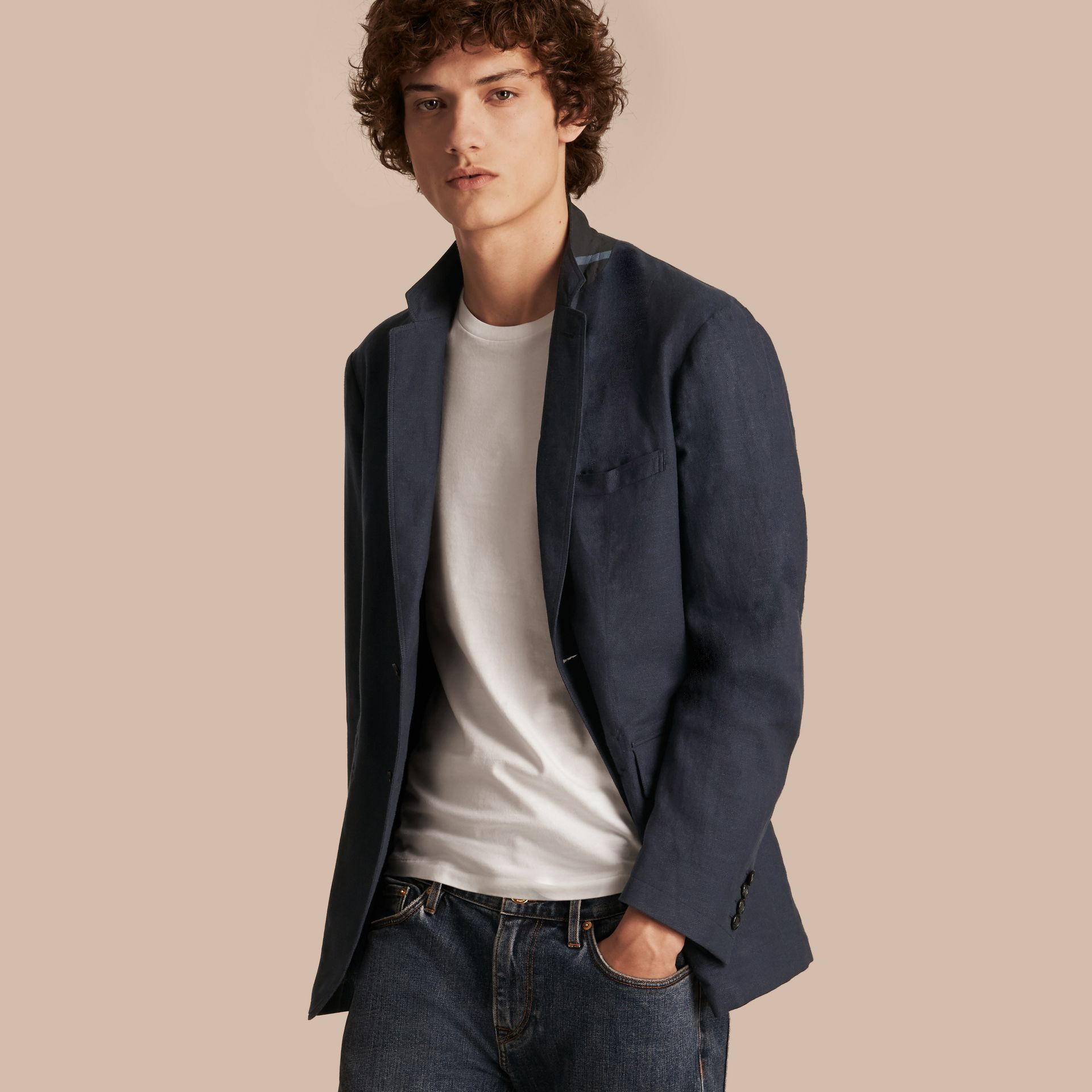 Cotton Blazer - gallery image 1