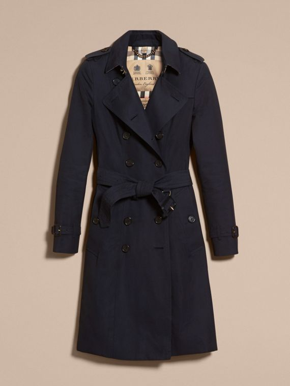 Navy The Chelsea - Trench coat Heritage lungo Navy - cell image 3