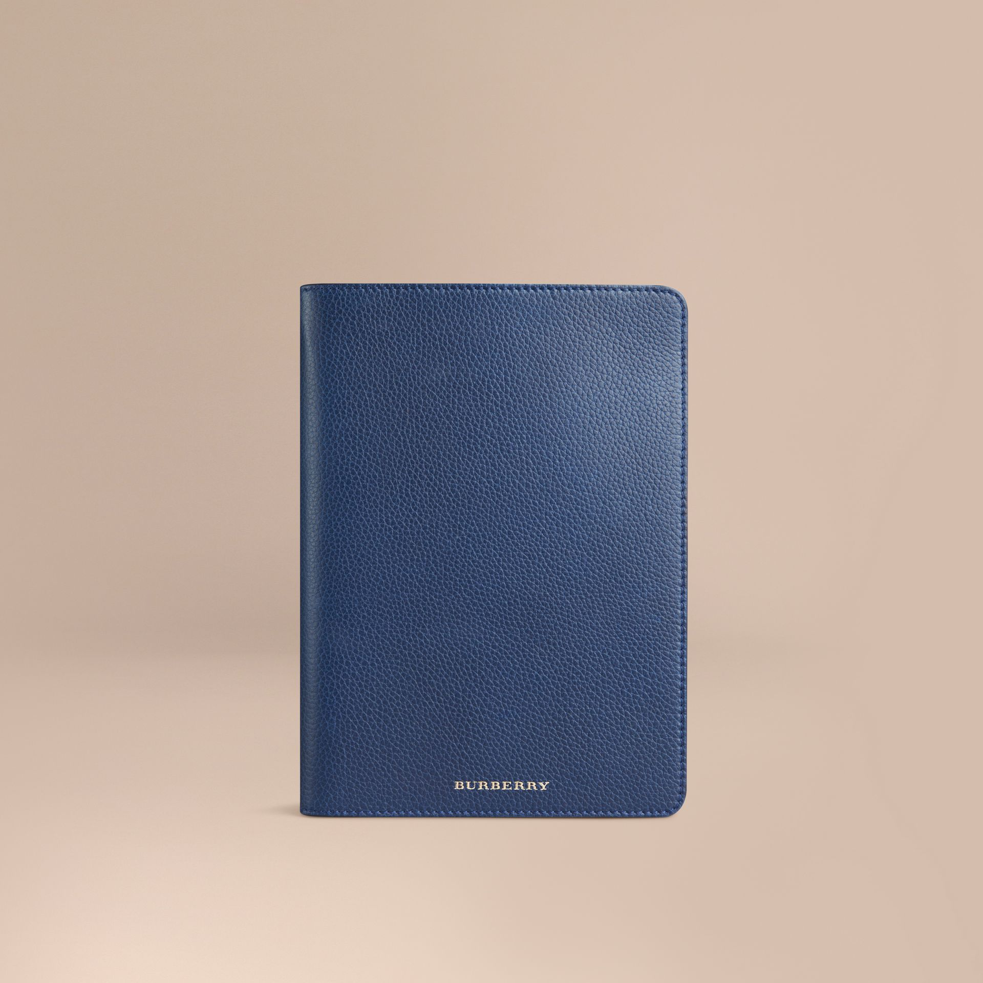 Bright navy Grainy Leather iPad Mini Case Bright Navy - gallery image 1