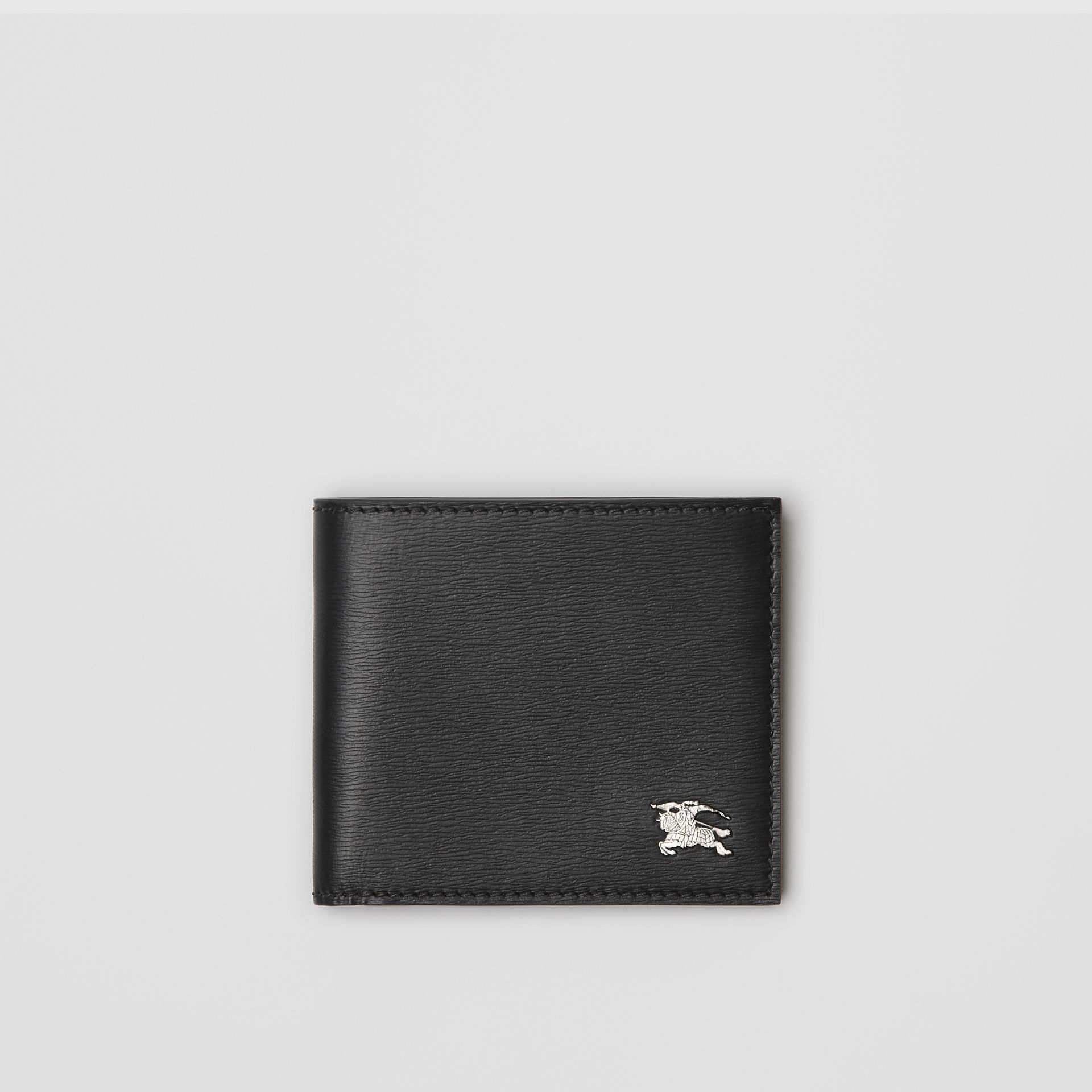 London Leather International Bifold Wallet in Black - Men | Burberry - gallery image 0