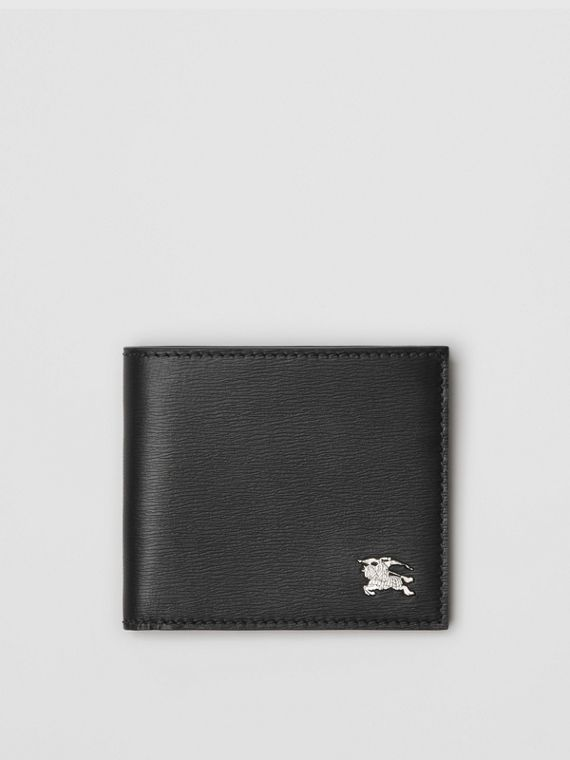 London Leather International Bifold Wallet in Black