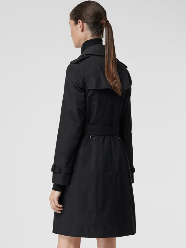 The Chelsea Heritage Trench Coat in Midnight - Women | Burberry Singapore - cell image 2