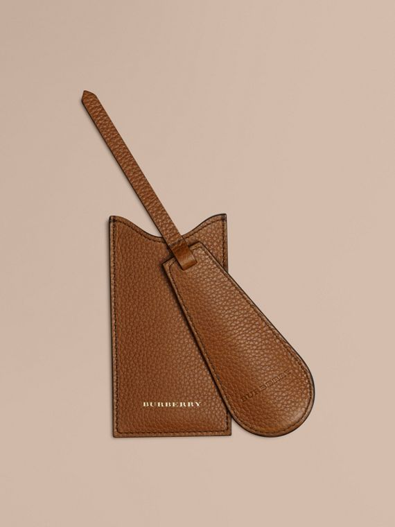Leather Shoe Horn in Tan - Men | Burberry