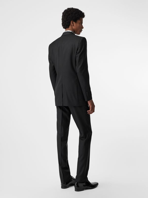 Classic Fit Wool Twill Suit in Black - Men | Burberry United Kingdom - cell image 2