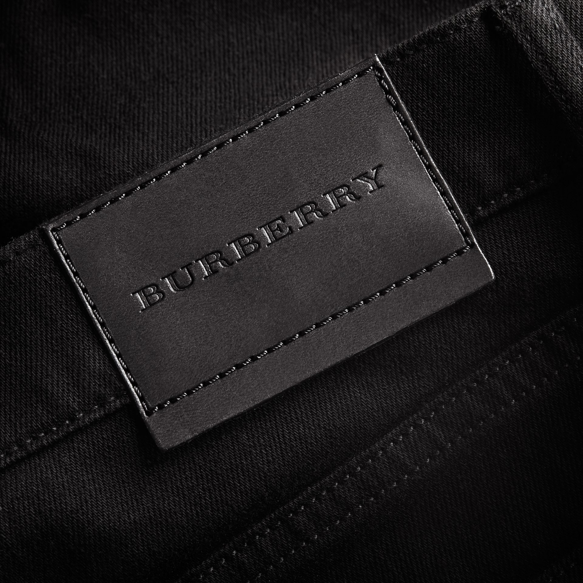 Straight Fit Stretch-denim Jeans - Men | Burberry - gallery image 2