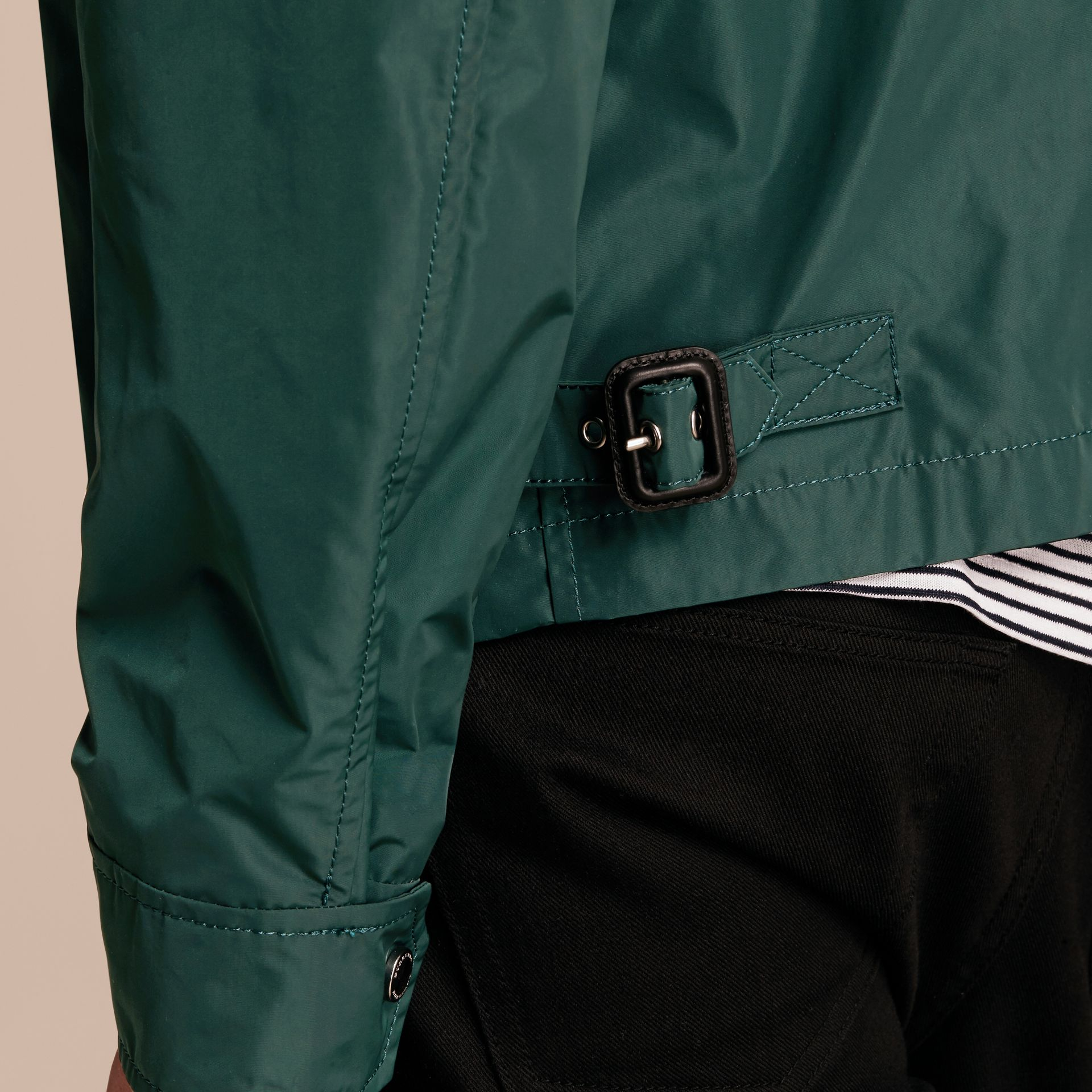 Lightweight Technical Jacket in Racing Green - Men | Burberry - gallery image 12