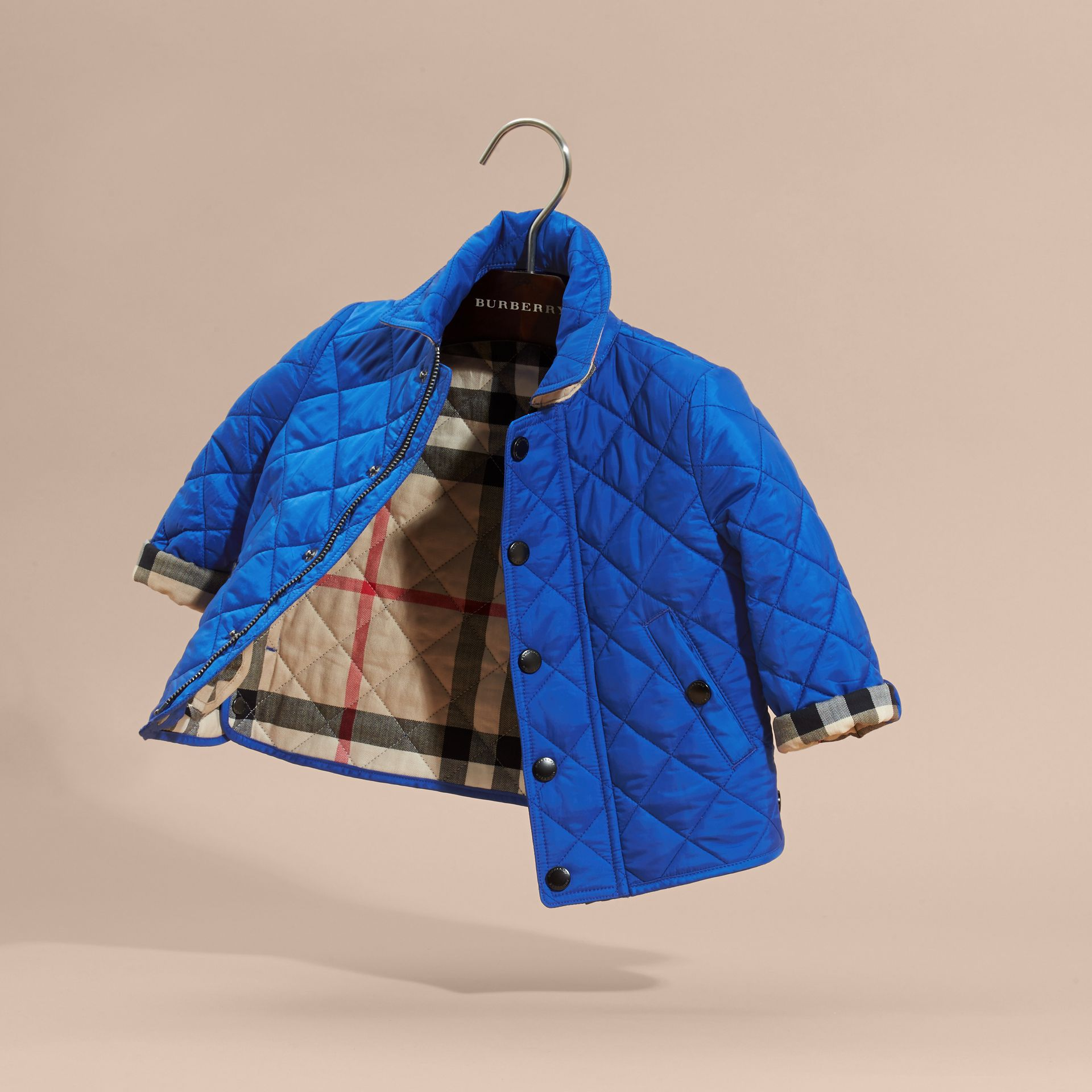 Brilliant blue Lightweight Quilted Jacket Brilliant Blue - gallery image 3