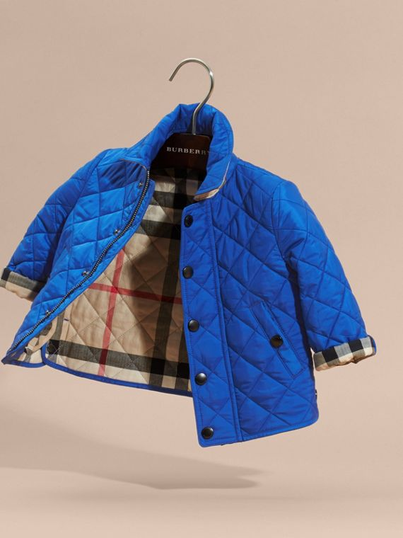 Brilliant blue Lightweight Quilted Jacket Brilliant Blue - cell image 2