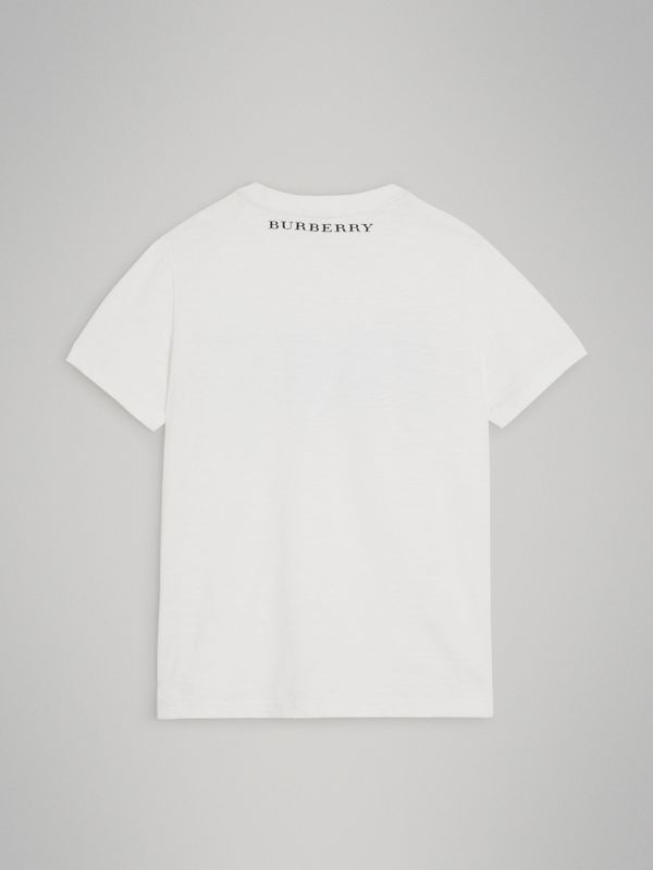 Skate Park Life Cotton T-shirt in White | Burberry - cell image 3
