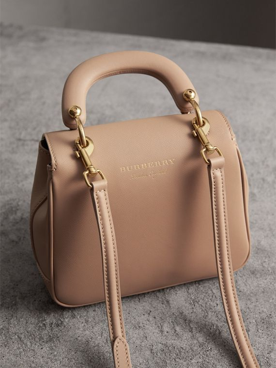 The Small DK88 Top Handle Bag in Honey - Women | Burberry - cell image 2