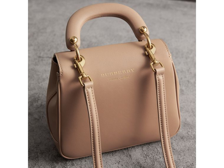 The Small DK88 Top Handle Bag in Honey - Women | Burberry Singapore - cell image 4